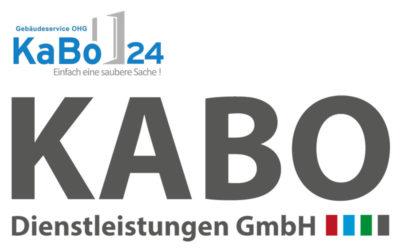 Aus KaBo24 Gebäudeservice OHG wird KABO Dienstleistungen GmbH