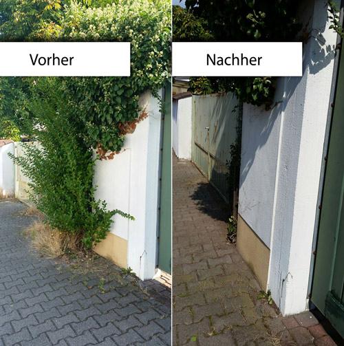 Kabo-Referenz-Gartenarbeiten