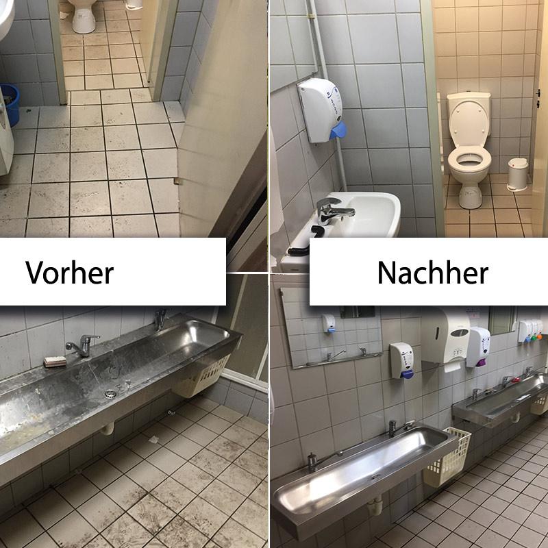 Toilettenreinigung