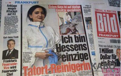 Özlem Kaya Tatortreinigerin in Frankfurt