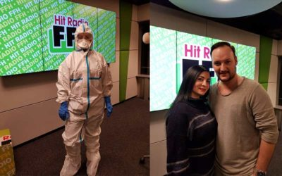 Zu Gast bei HIT RADIO FFH | Felix Möse im Interview mit unserer Tatortreinigerin Özlem Kaya