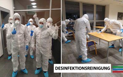 Desinfektionsreinigung